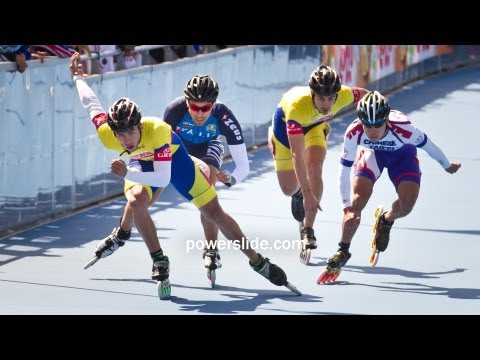 2013 Speed Skating Championships POWERSLIDE 10 - Men 500m