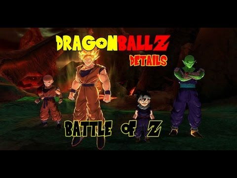 Dragon Ball Z: Battle Of Z - Characters, Customization, Character Creation [1080p HD]