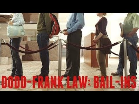 The Dodd Frank Law: Bail Ins pt1
