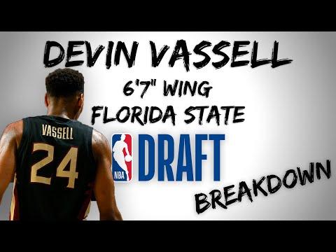 Devin Vassell Draft Scouting Video   2020 NBA Draft Breakdowns