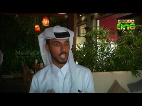 First veg cafe in Qatar