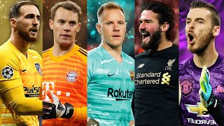 Best Goalkeeper 2020 ● Ter Stegen ● Alisson Becker ● Neuer ● David De Gea ● Jan Oblak ● Saves Mix #1