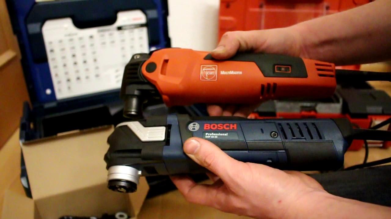 Favorit Bosch GOP 40-30 (Starlock) und Fein FMM 350 Q Vergleich auf LH13