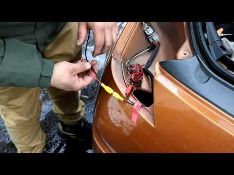350z Reverse Camera Installation - YouTube on cover for backup camera, ouku wiring backup camera, wiring diagram for security camera, relay for backup camera, rns 510 wiring backup camera, wire for backup camera,