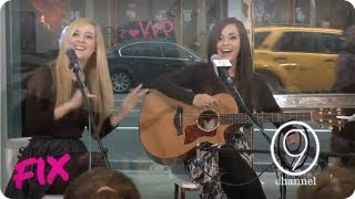 Megan & Liz Perform Live at Nine West | Bad for Me | Live at 9W Lex