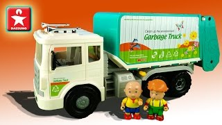Машинка – МУСОРОВОЗ Малыш Каю расскажет про эту игрушку Daesung Toys Мультик о Качественных игрушках
