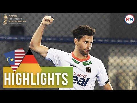 Malaysia v Germany | Odisha Men's Hockey World Cup Bhubaneswar 2018 | HIGHLIGHTS