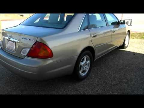 2001 toyota avalon san marcos toyota youtube. Black Bedroom Furniture Sets. Home Design Ideas
