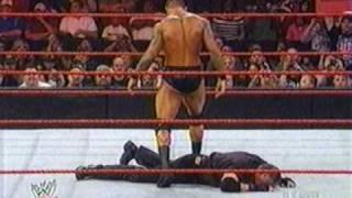Randy Orton vs. Mr. Vince McMahon and Batista (the animal) Returns on 04/06/09