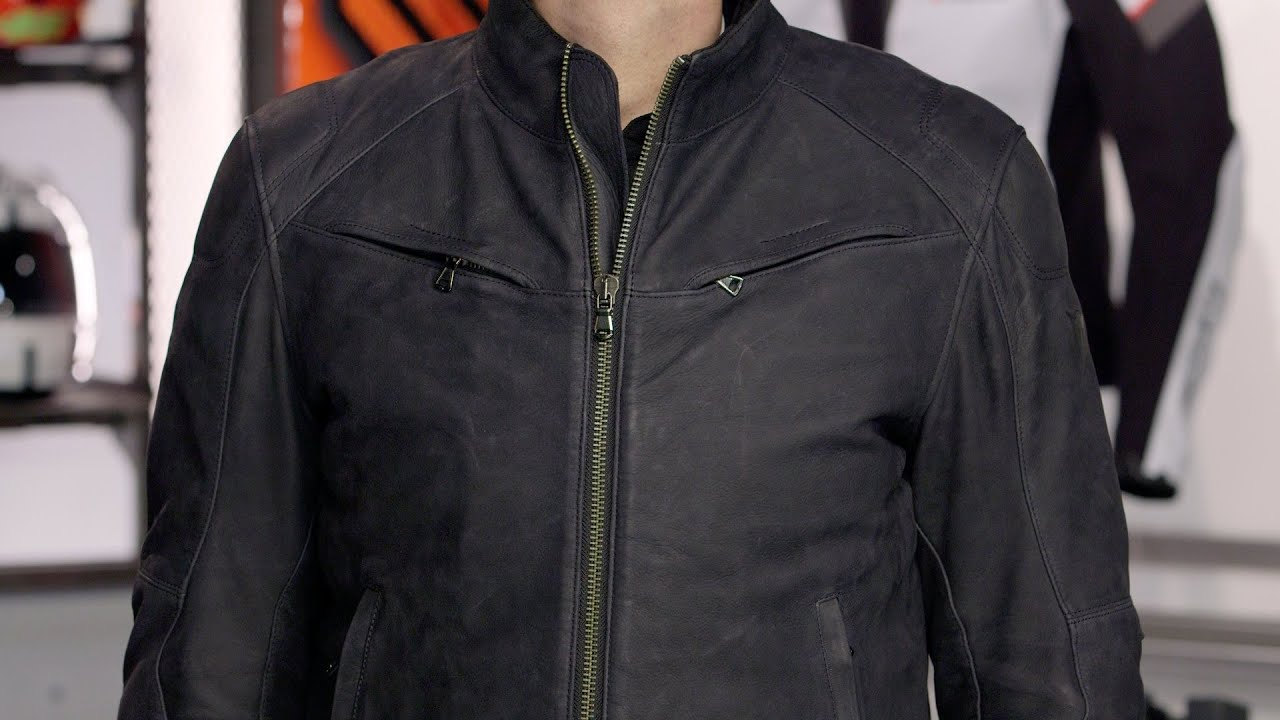 Dainese Black Hawk Leather Jacket Review At Revzilla Com