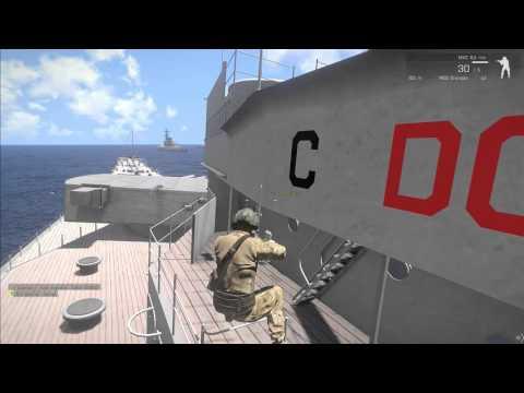 EPIC ARMA- Jets VS ships