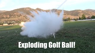 Ever see a gag video of an exploding golf ball and wonder what in the world are those made of? We did so we bought one and cut it open! These are such great ...