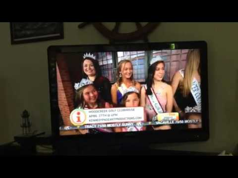 Miss Placer County United States on Good Day Sacramento