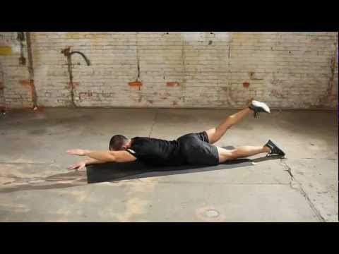 Bodyweight Swimmers | Core Exercise for the Back