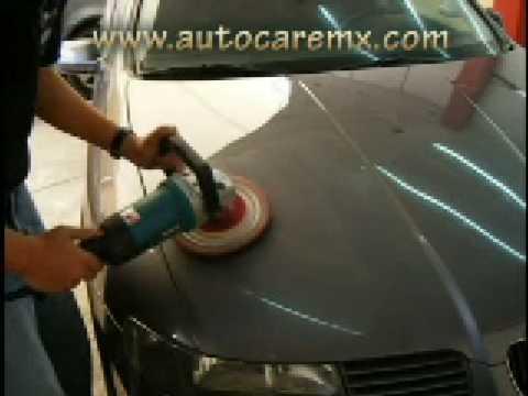 Puliendo con m105 y lana 1400 rpm youtube - Como pulir faros de coche ...