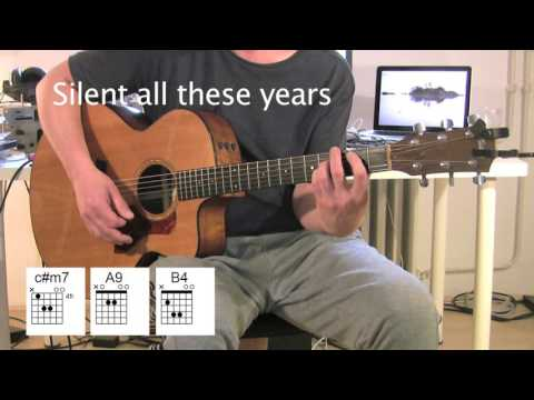 Silent All These Years - Acoustic Guitar - chords - Tori Amos