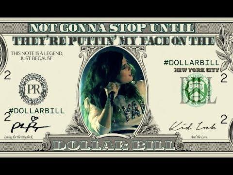 "Phoebe Ryan Ft. Kid Ink ""Dollar Bill"" (Lyric Video)"
