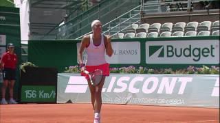 Portugal Open 2014: Match Highlights Yanina Wickmayer v. Urszula Radwanska
