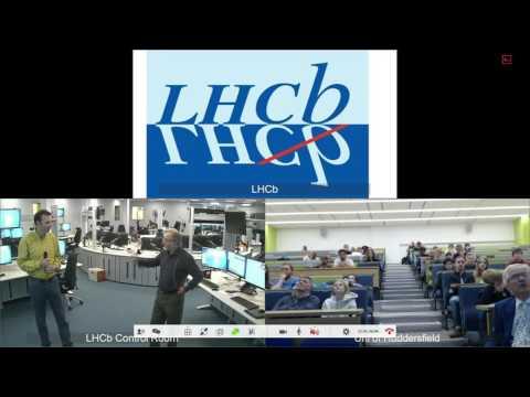 European Researchers's Night 2016 - CERN LHCb Experiment Virtual Tour [HD]