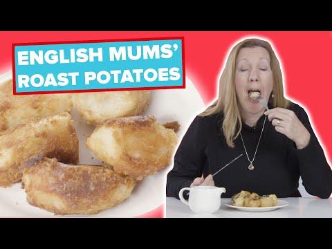 English Mums Try Other English Mums' Roast Potatoes