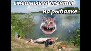смешные моменты на рыбалке приколы на рыбалке лучшее