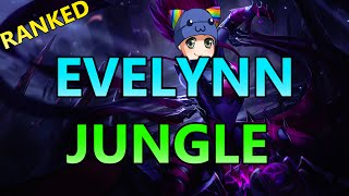 SNEAKY HYBRID EVELYNN JUNGLE - Full Ranked Gameplay Commentary