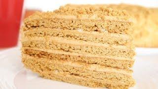 Торт Рыжик  вкус детства Очень вкусный