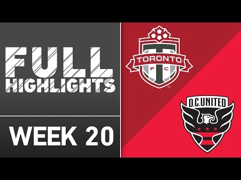 HIGHLIGHTS | Toronto FC 4-1 D.C. United