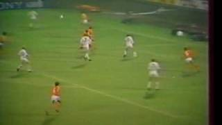 Hollandia - Magyarország 1984.10.17 Détári Lajos gólja