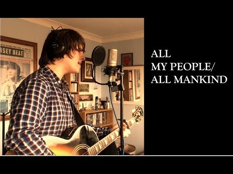 Liam Gallagher - All My People/All Mankind Cover