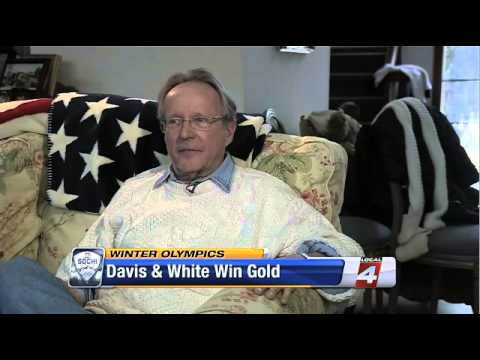 Davis and White Local News Father of White Interview Gold win