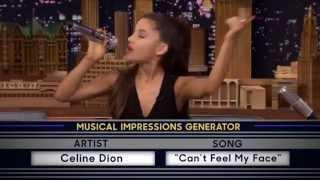 Ariana Grande singing Can