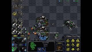 Gosh I love Nukes in Starcraft Super Fastest