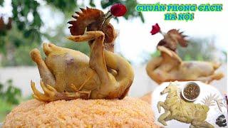 Chặt thịt gà chuẩn đẹp theo phong cách Hà Nội