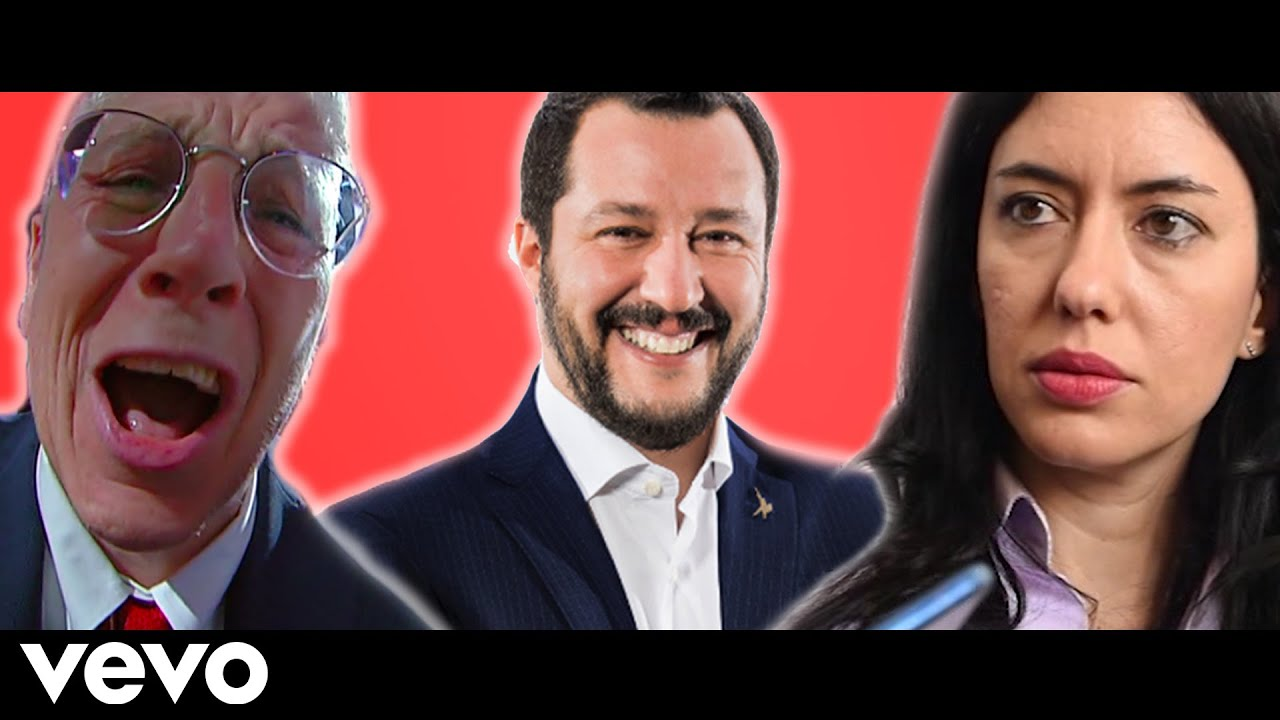 Azzolina - Salvini Il Gaglioffo (ft. Mario Giordano)