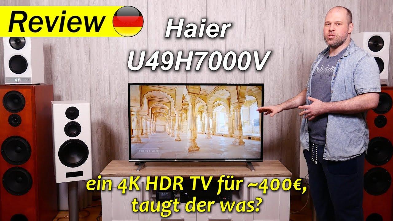 haier u49h7000 ein 4k hdr tv f r 400 taugt der was. Black Bedroom Furniture Sets. Home Design Ideas