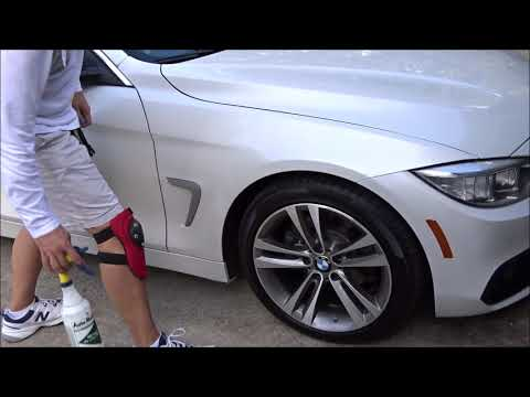 Spray Paint Overspray Removal / Full Paint Restoration & Interior Parts BMW 428I