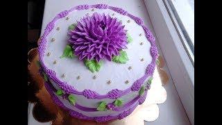 Быстрое оформление тортика