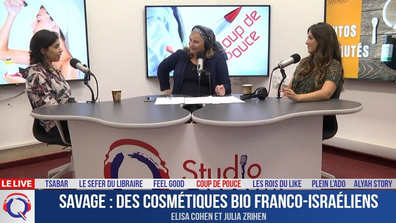 Savage : des cosmétiques bio franco-israéliens - cdp#341