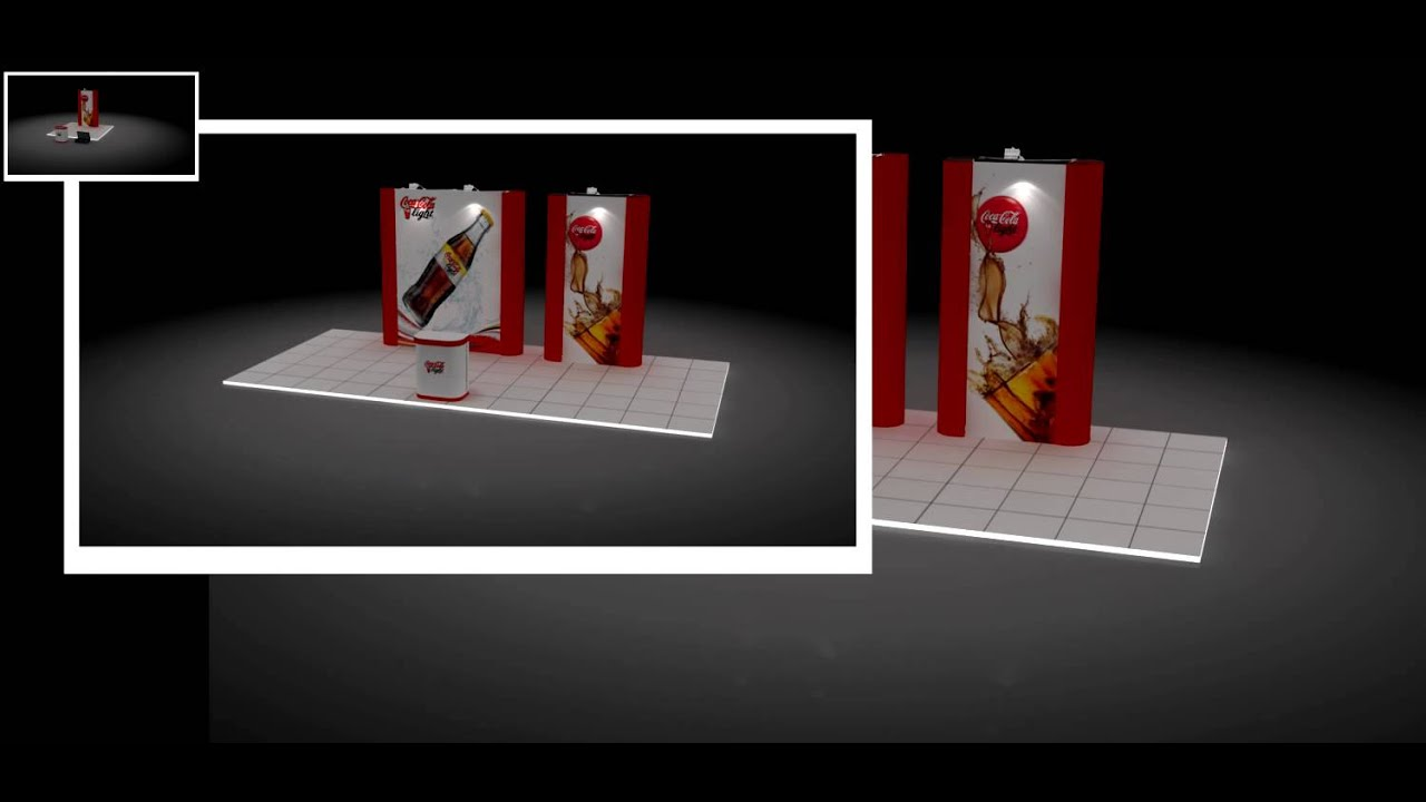 Modular Exhibition Stand Out : In stall designs using expoprestige™ modular
