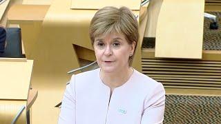 video: Nicola Sturgeon unveils plans for  Scottish 'Freedom Day' on August 9