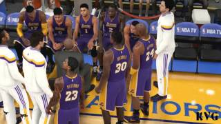 NBA 2K16 - Los Angeles Lakers vs Golden State Warriors Gameplay (PC HD) [1080p60FPS]