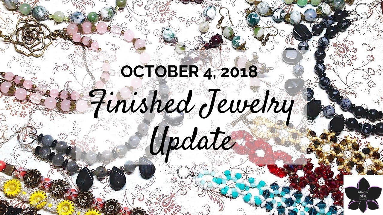 Download Finished Jewelry Update | Beading Project Share |  Oct. 2018