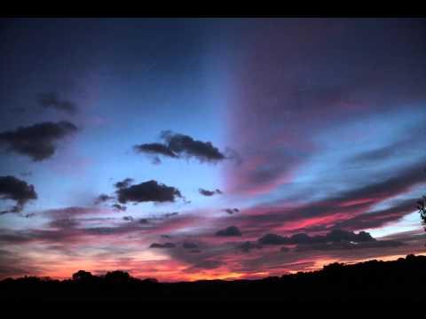 Couché de Soleil en Provence France (sun set) Provence  France