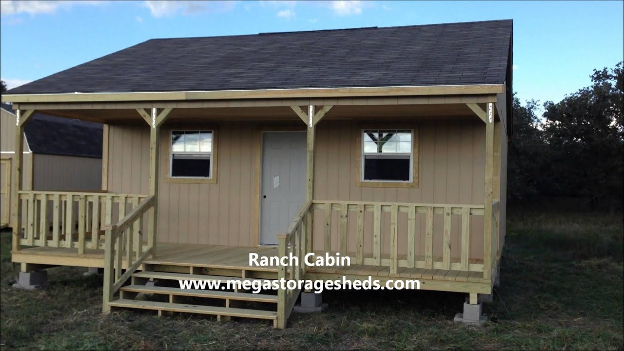 delightful texas cabin builders #8: Custom Cabins Builders (Ranch Cabin)