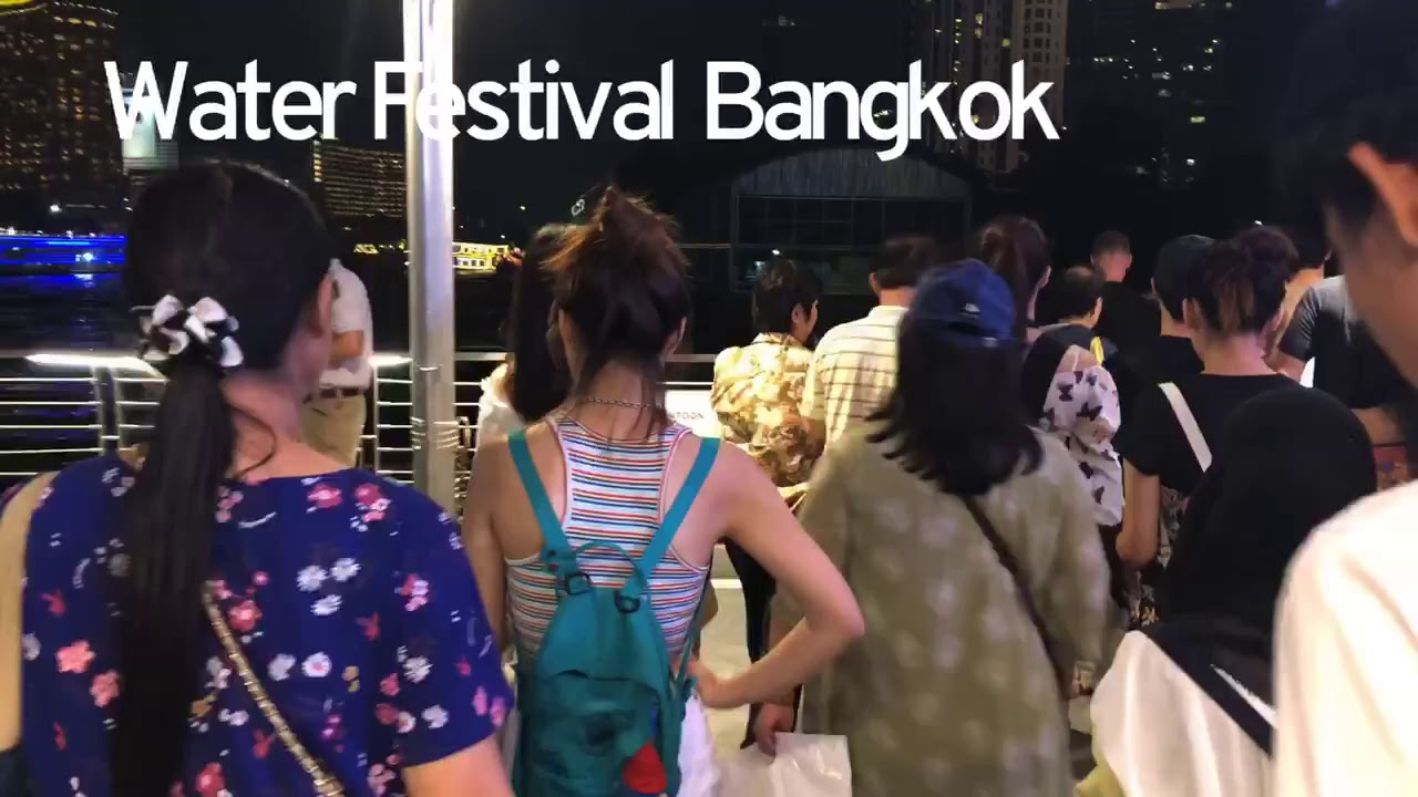 Water Festivals Travel and events Bangkok 2019