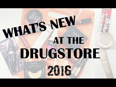 MASSIVE What's New at the Drugstore HAUL 2016
