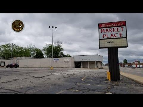 Abandoned Santisi's IGA Marketplace Girard, OH