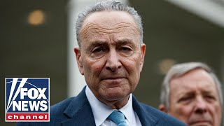 Live: Senator Schumer holds a press conference on securing US elections