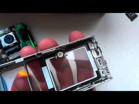 Ремонтируем Sony Ericsson K800i - замена спикера.